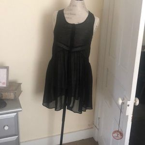 Sheer baby doll empire waist dress last Chance